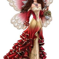 Пазл онлайн: Ангел Зимы