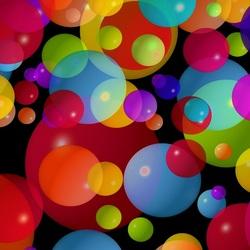 Пазл онлайн: Пузыри