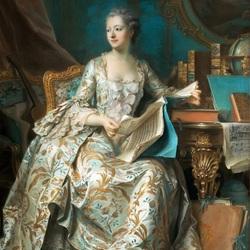 Пазл онлайн: Мадам Помпадур