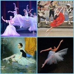 Пазл онлайн: Балетные этюды