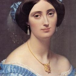Пазл онлайн: Принцесса Альберт де Бройля (деталь)