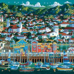 Пазл онлайн: Санта-Барбара