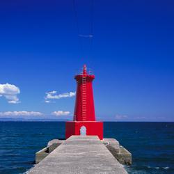 Пазл онлайн: Красный маяк