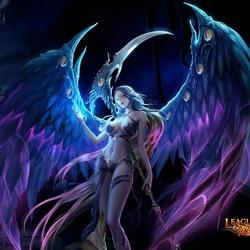 Пазл онлайн: Ангел