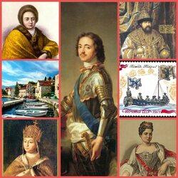 Пазл онлайн: О первом Российском Императоре Петре I