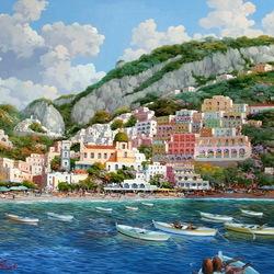 Пазл онлайн: Итальянские зарисовки