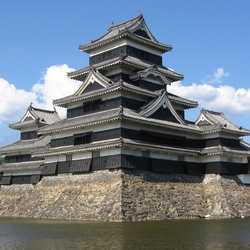 Пазл онлайн: Замок Мацумото