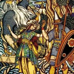 Пазл онлайн: Шамаханская царица
