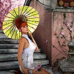 Пазл онлайн: Азиатская весна