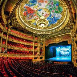 Пазл онлайн: Гранд-Опера