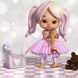 Пазл онлайн: Это твоя кукла?