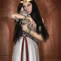 Пазл онлайн: Египтянки