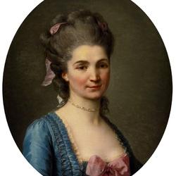 Пазл онлайн: Портрет дамы