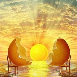 Пазл онлайн: Рождение Мира