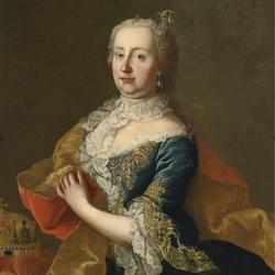 Пазл онлайн: Эрцгерцогиня Мария-Терезия