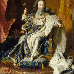 Пазл онлайн: Луи XV