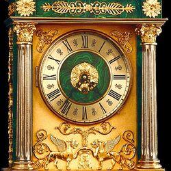 Пазл онлайн: Часы из малахита