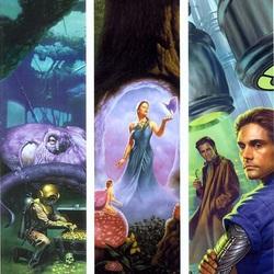 Пазл онлайн: Фантастические миры