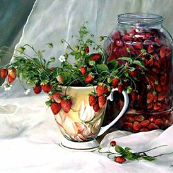 Пазл онлайн: Лесная ягода