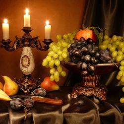 Пазл онлайн: Три свечи