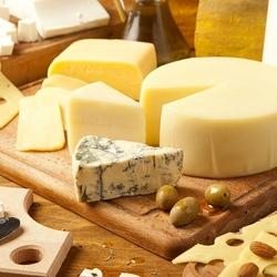 Пазл онлайн: Сырное разнообразие