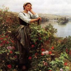 Пазл онлайн: У роз