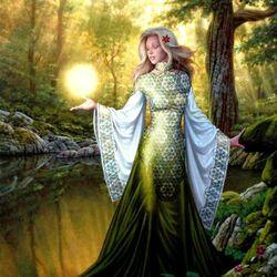 Пазл онлайн: Богиня огня