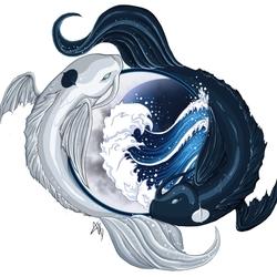 Пазл онлайн: Луна и Океан