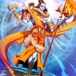 Пазл онлайн: Шива