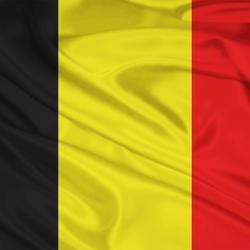 Пазл онлайн: Флаг Бельгии