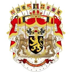 Пазл онлайн: Герб Бельгии