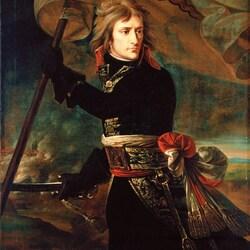 Пазл онлайн: Наполеон Бонапарт на Аркольском мосту