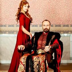 Пазл онлайн: Хюррем и Султан