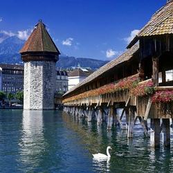 Пазл онлайн: Люцерн. Швейцария