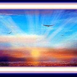 Пазл онлайн: В лучах заходящего солнца