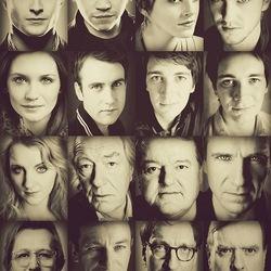 Пазл онлайн: Актеры серии фильмов ''Гарри Поттер''