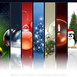 Пазл онлайн: Счастливого Рождества и веселых праздников!