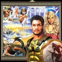 Пазл онлайн: Боги Олимпа
