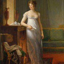 Пазл онлайн: Портрет мадам Шарль-Морис де Талейран-Перигор, княгини Беневенте