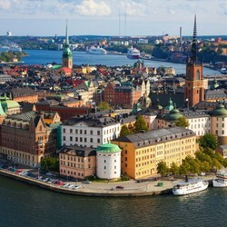 Пазл онлайн: Стокгольм
