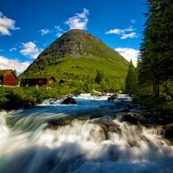 Пазл онлайн: Норвегия