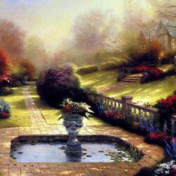 Пазл онлайн: Красивый пейзаж