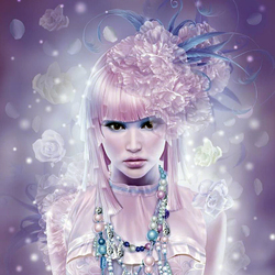 Пазл онлайн: Красивая