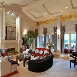 Пазл онлайн: Роскошная гостиная