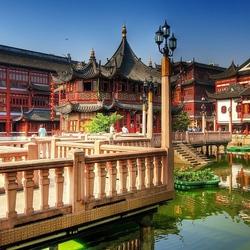 Пазл онлайн: Чайный дворец. Шанхай. Китай