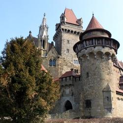 Пазл онлайн: Замок Кронценштайн. Австрия