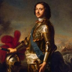Пазл онлайн: Пётр I Великий
