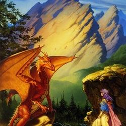 Пазл онлайн: Драконье озеро