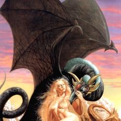 Пазл онлайн: Драконье гнездо