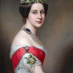 Пазл онлайн: Великая княгиня Александра Иосифовна